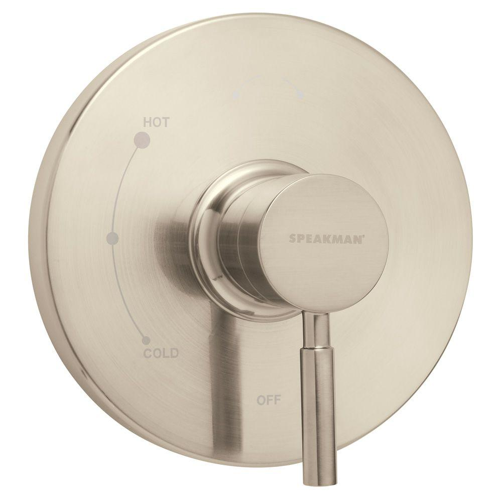 Speakman Neo Pressure Balance Valve and Trim in Brushed Nickel