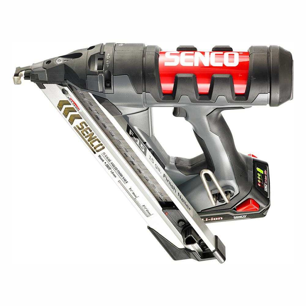 Senco Fusion 18-Volt 15-Gauge Cordless Angled Nailer