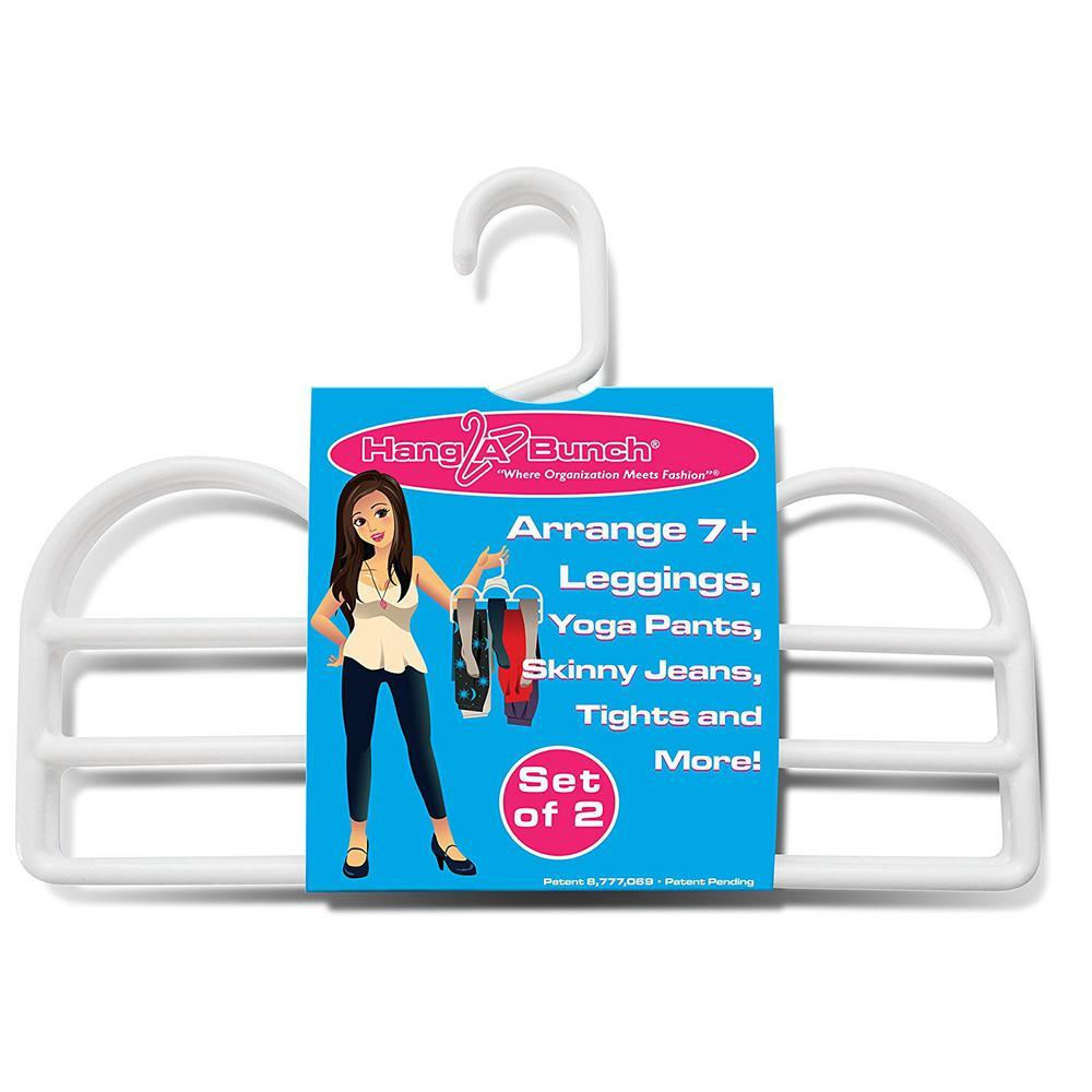 White Plastic Hanger (2-Pack)
