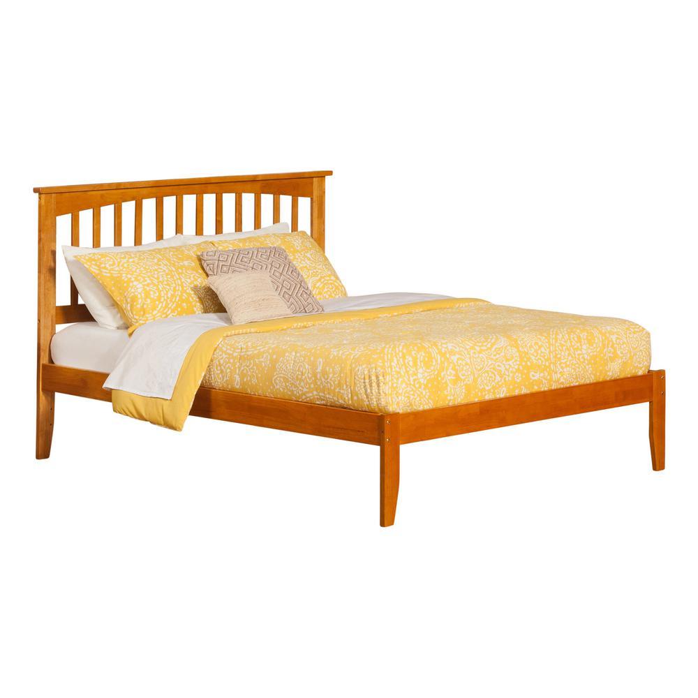 King - Bed Frame Mounted - Oak - Beds & Headboards - Bedroom ...