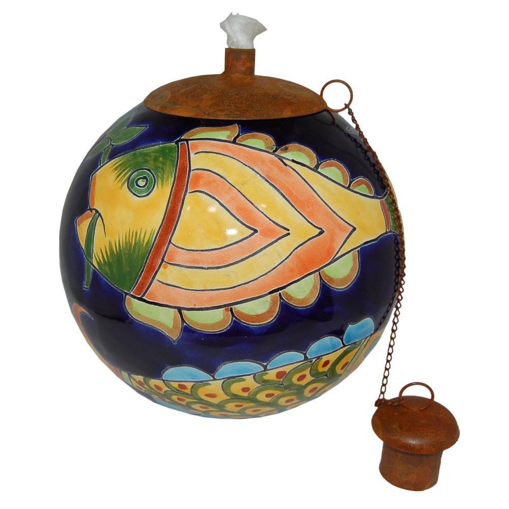 La Candela Tropical Fish Table Top Torch