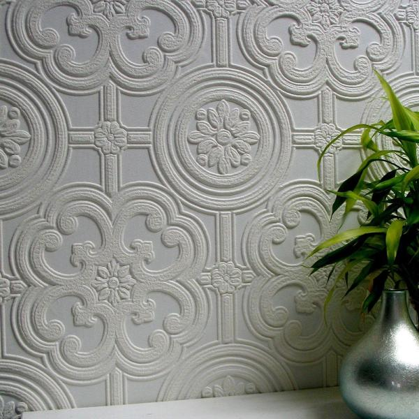Egon Paintable Textured Vinyl Strippable Wallpaper (Covers 57.5 sq. ft.)