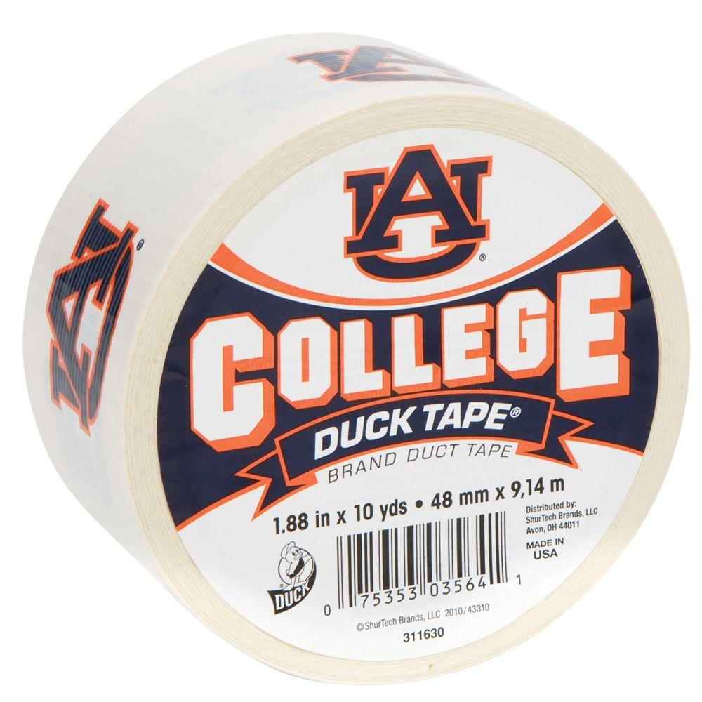 Duck College 1-7/8 in. x 30 ft. Auburn Duct Tape (6-Pack)