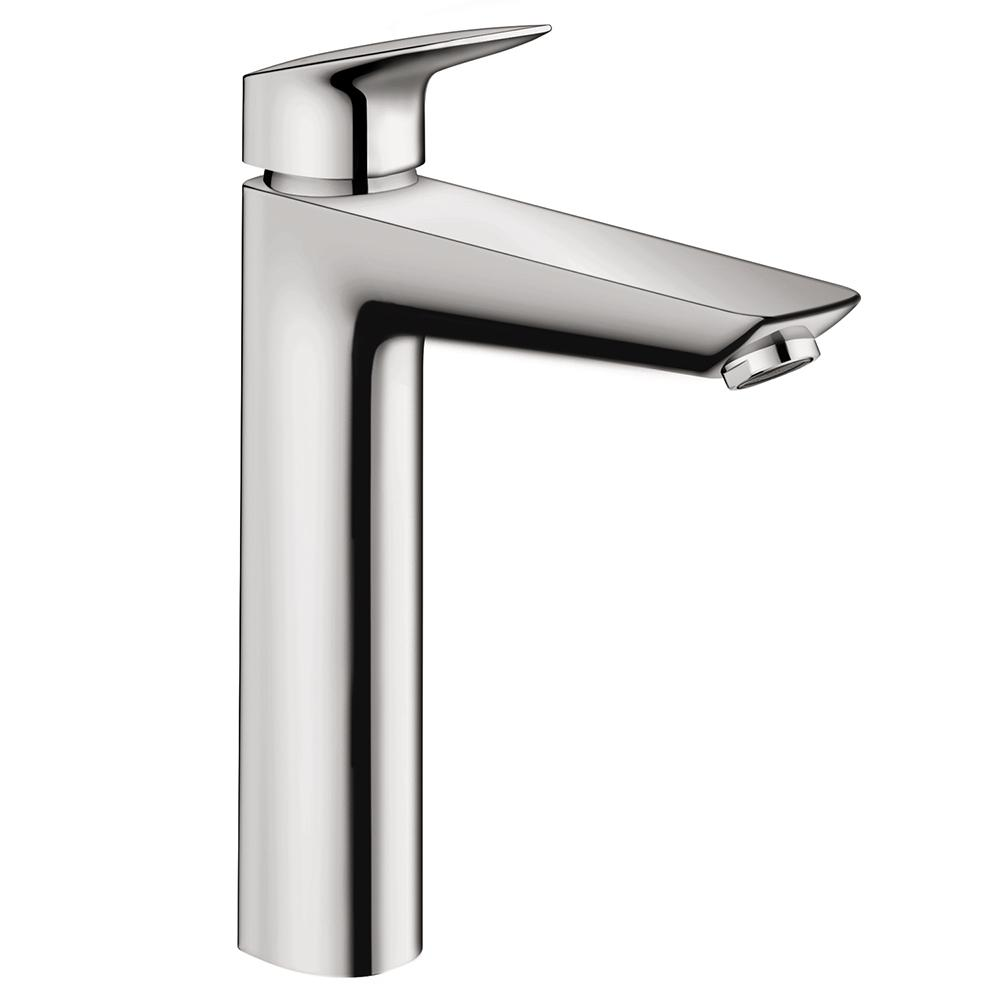 Hansgrohe Logis 190 Single Hole Single Handle Bathroom Faucet In Chrome