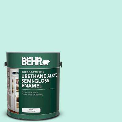 1 gal. #P430-1 Summer House Urethane Alkyd Semi-Gloss Enamel Interior/Exterior Paint