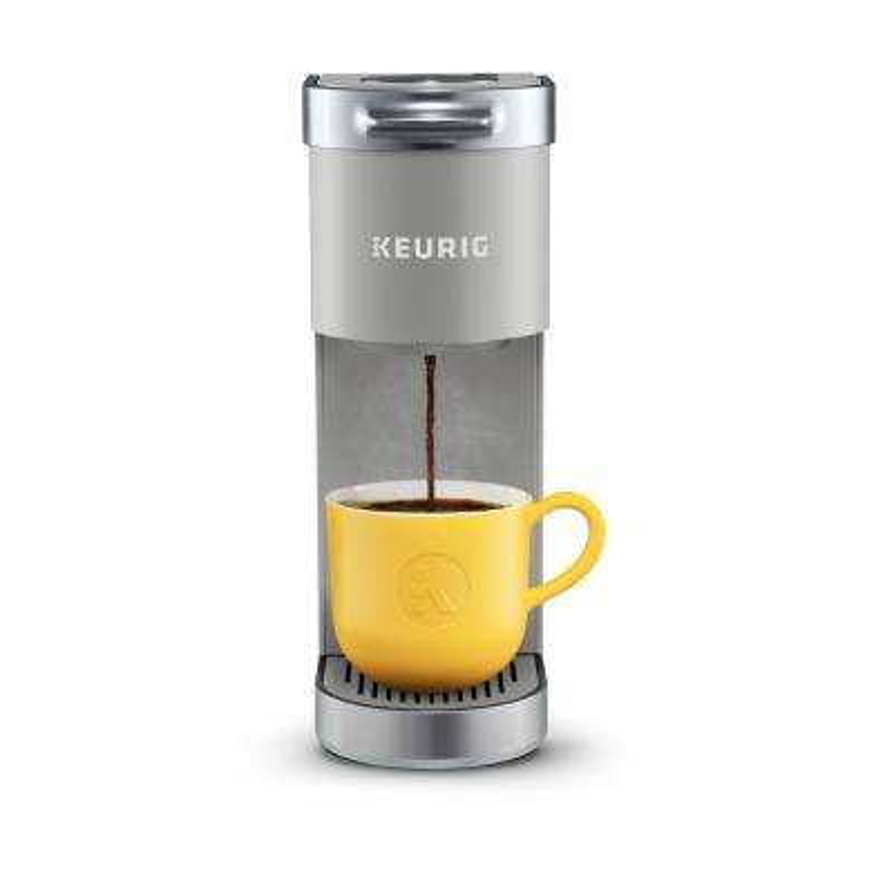K-Mini Plus Studio Gray Single Serve Cofee Maker