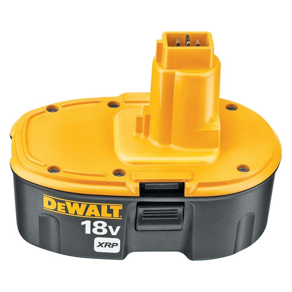 DEWALT 18-Volt XRP NiCd Extended Runtime Battery Pack 2.4Ah