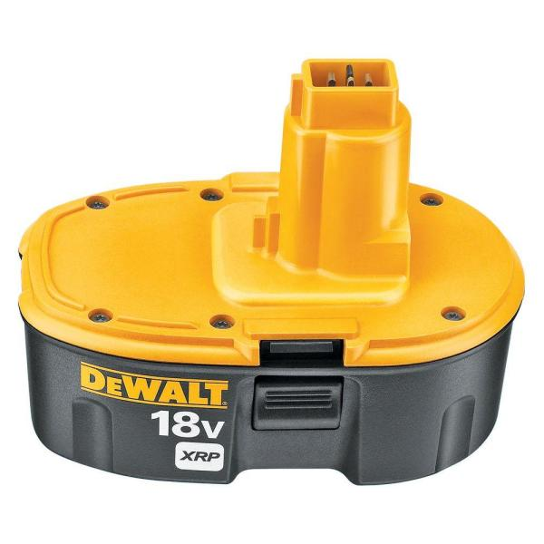 DEWALT 18-Volt XRP NiCd Extended Runtime Battery Pack 2.4Ah