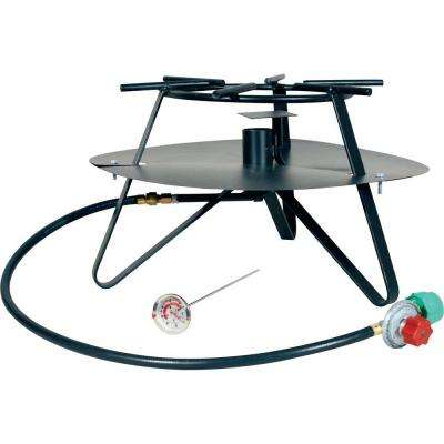 105,000 BTU Tripod Propane Gas Outdoor Cooker with Baffle