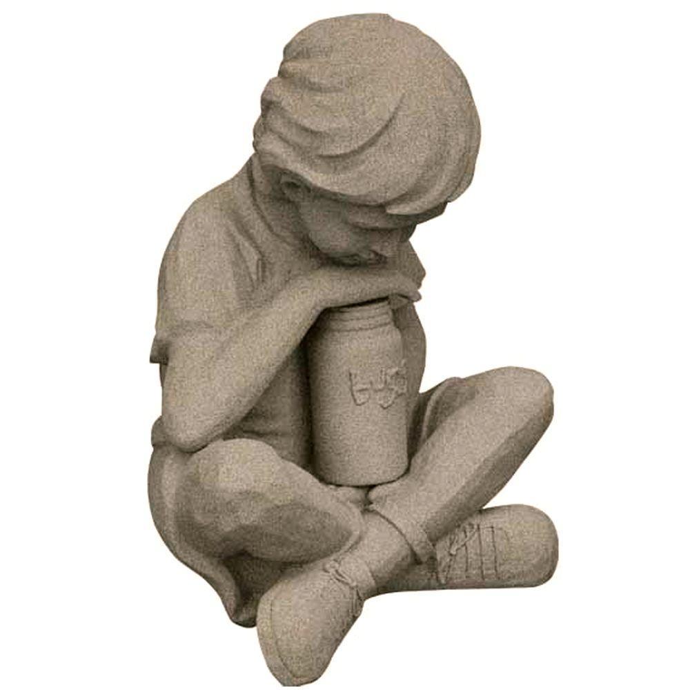 Emsco Nature Boy Sand Color Lawn Statue