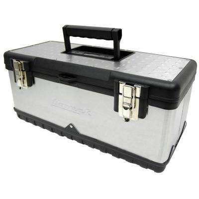 20 in. Hand Carry Tool Box, Stainless Steel
