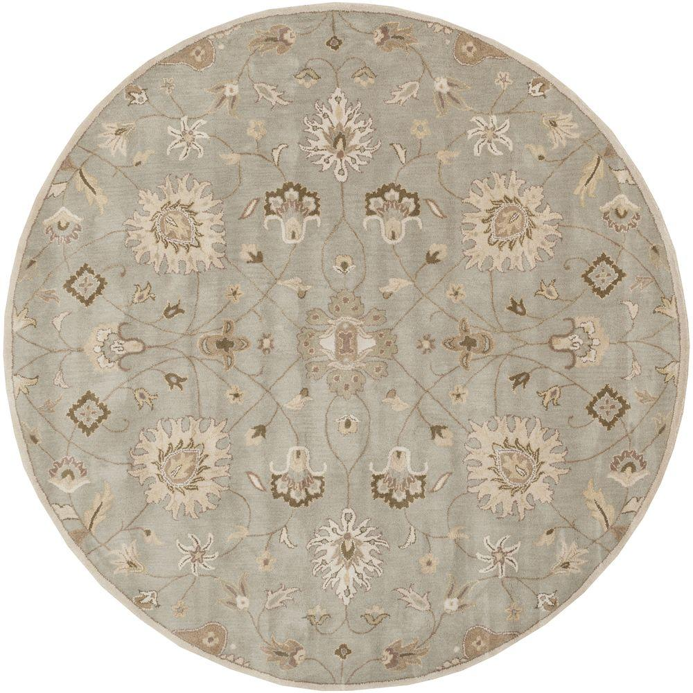 Artistic Weavers Albi Light Gray 4 Ft X 4 Ft Round