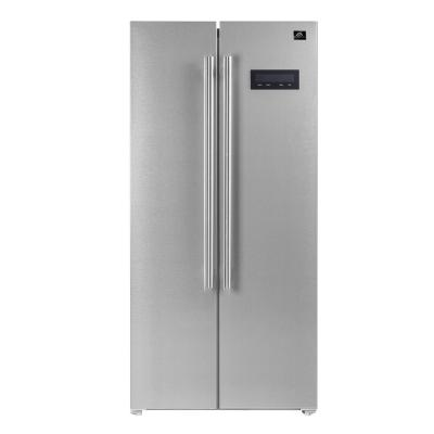 Salerno 33 in. Side by side built-in refrigerator 15.6 cu ft Stainless Steel Color