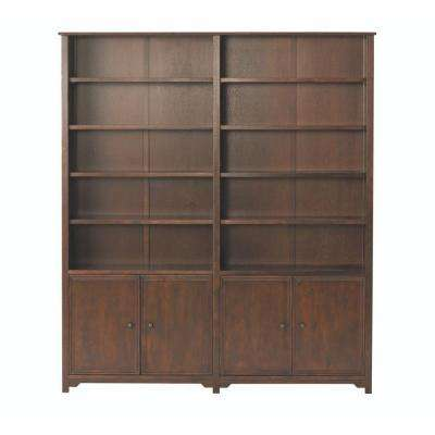 Oxford Chestnut Storage Open Bookcase