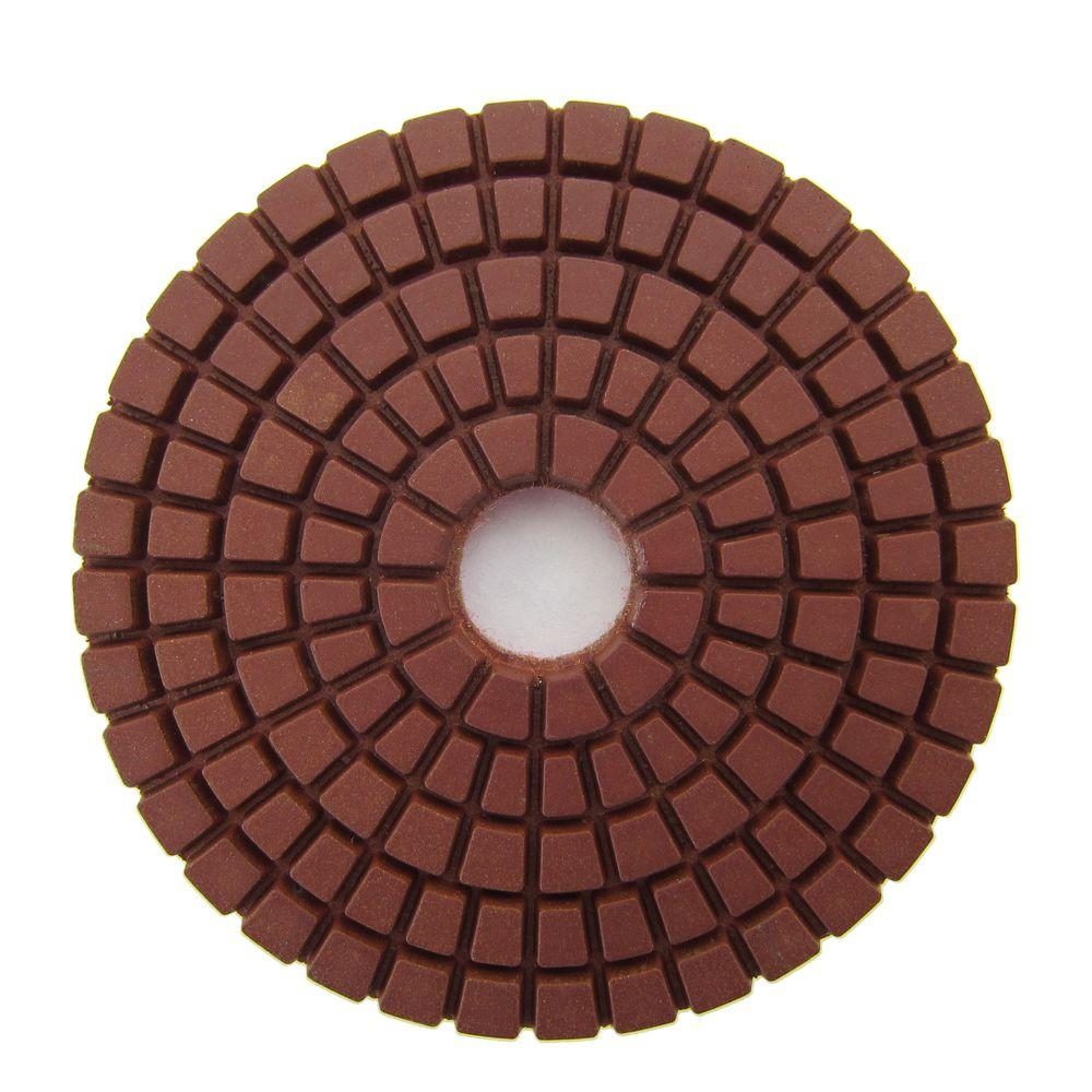 3 in. #200 Grit Wet Diamond Polishing Pad for Stone