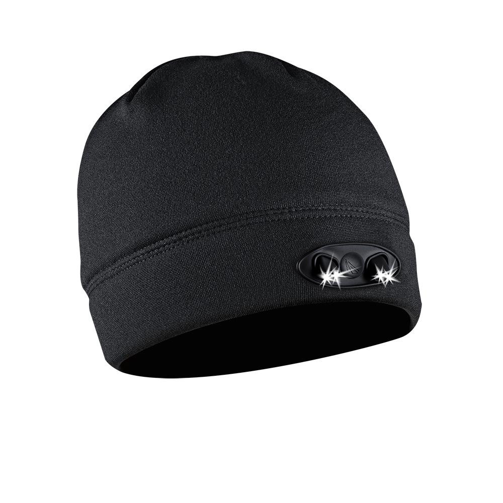 POWERCAP LED Beanie Cap 35//55 Ultra-Bright Hands Free LED Lighted Battery Powered Headlamp Hat Compression Fleece