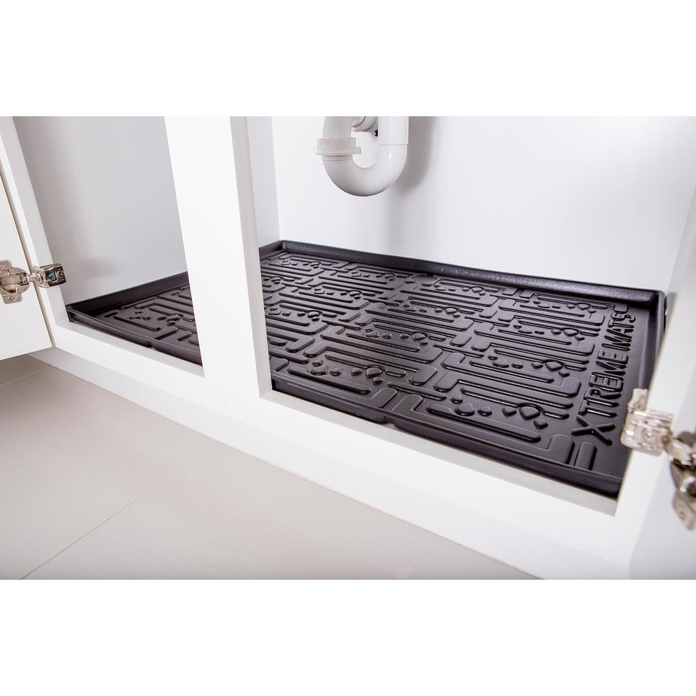 Kitchen Cabinet Mats: Under Sink Catch Pan