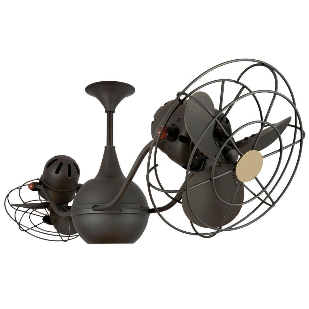 Ralston 42 in. 6-Blade Bronze Ceiling Fan