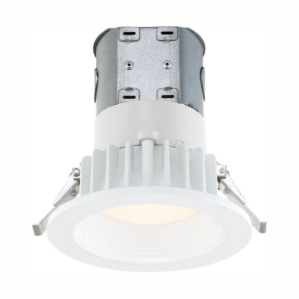 EnviroLite Easy Up 4 in. White Integrated LED Recessed Kit was $18.15 now $12.73 (30.0% off)