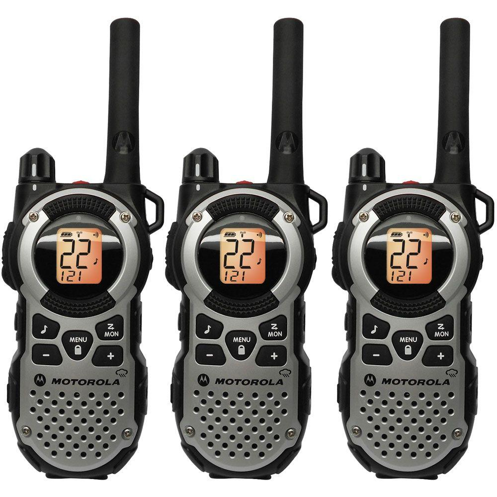 Motorola Talkabout 35-Mile Range 22 Channel 2-Way Weatherproof Radio - Triple Pack-DISCONTINUED