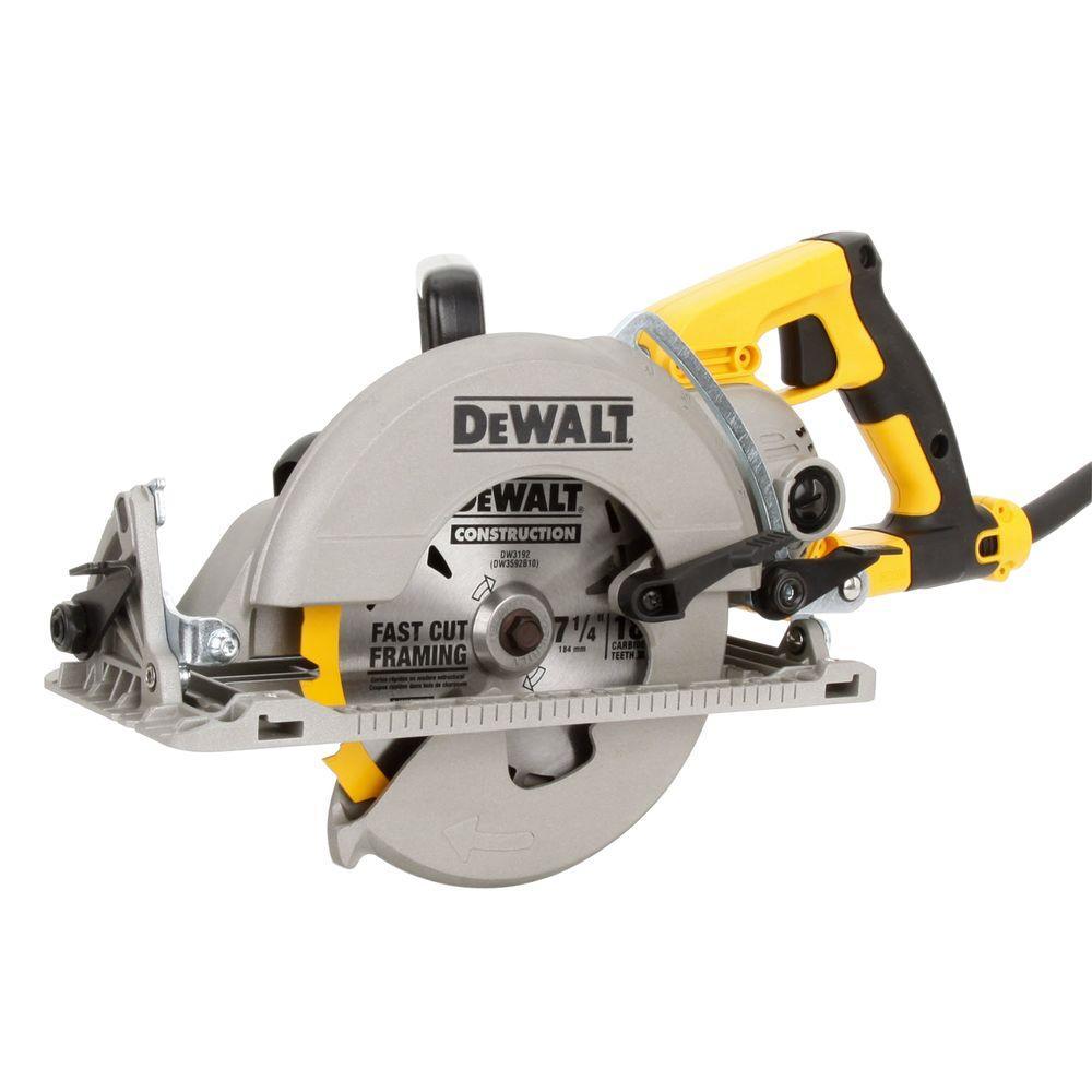 Dewalt 15 Amp 7 1 4 In Worm Drive Circular Saw Dws535