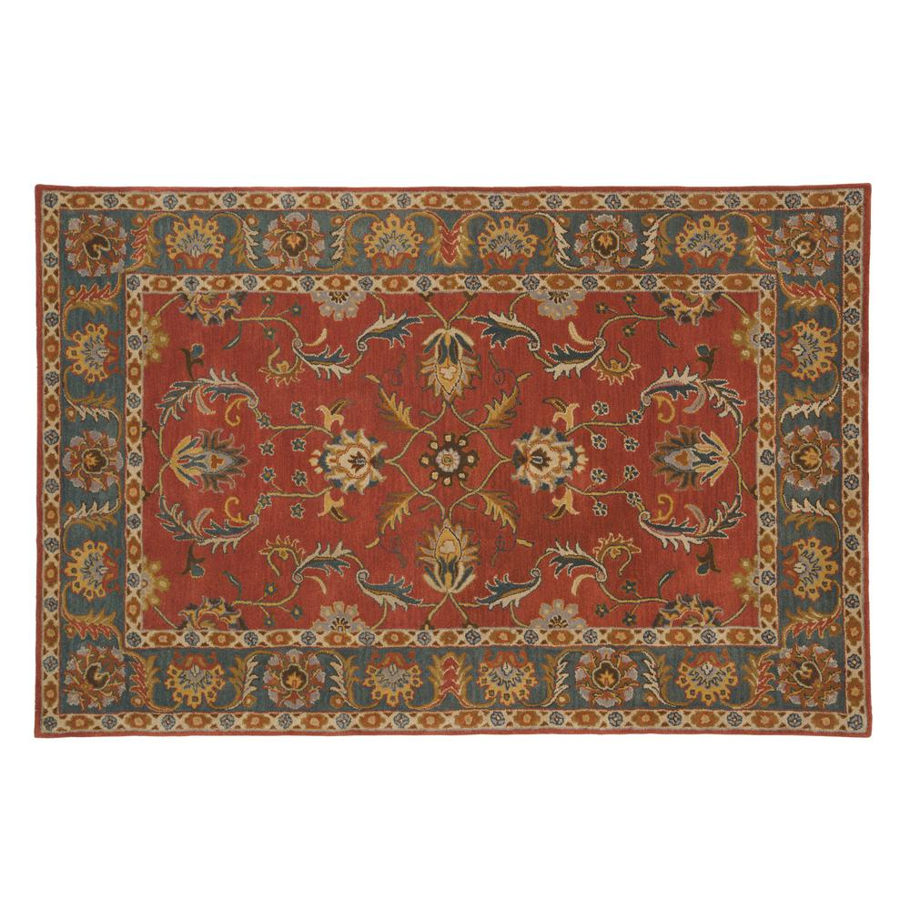 Home decorators collection aristocrat rust red 6 ft x 9 for Home decorators jules rug