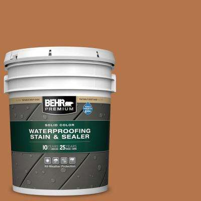 5 gal. #SC-533 Cedar Naturaltone Solid Color Waterproofing Exterior Wood Stain and Sealer