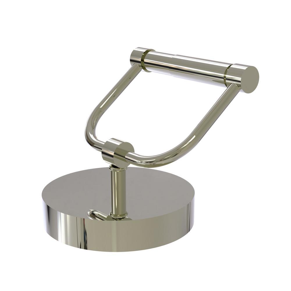 Vanity Top Toilet Tissue Holder in Polished Nickel