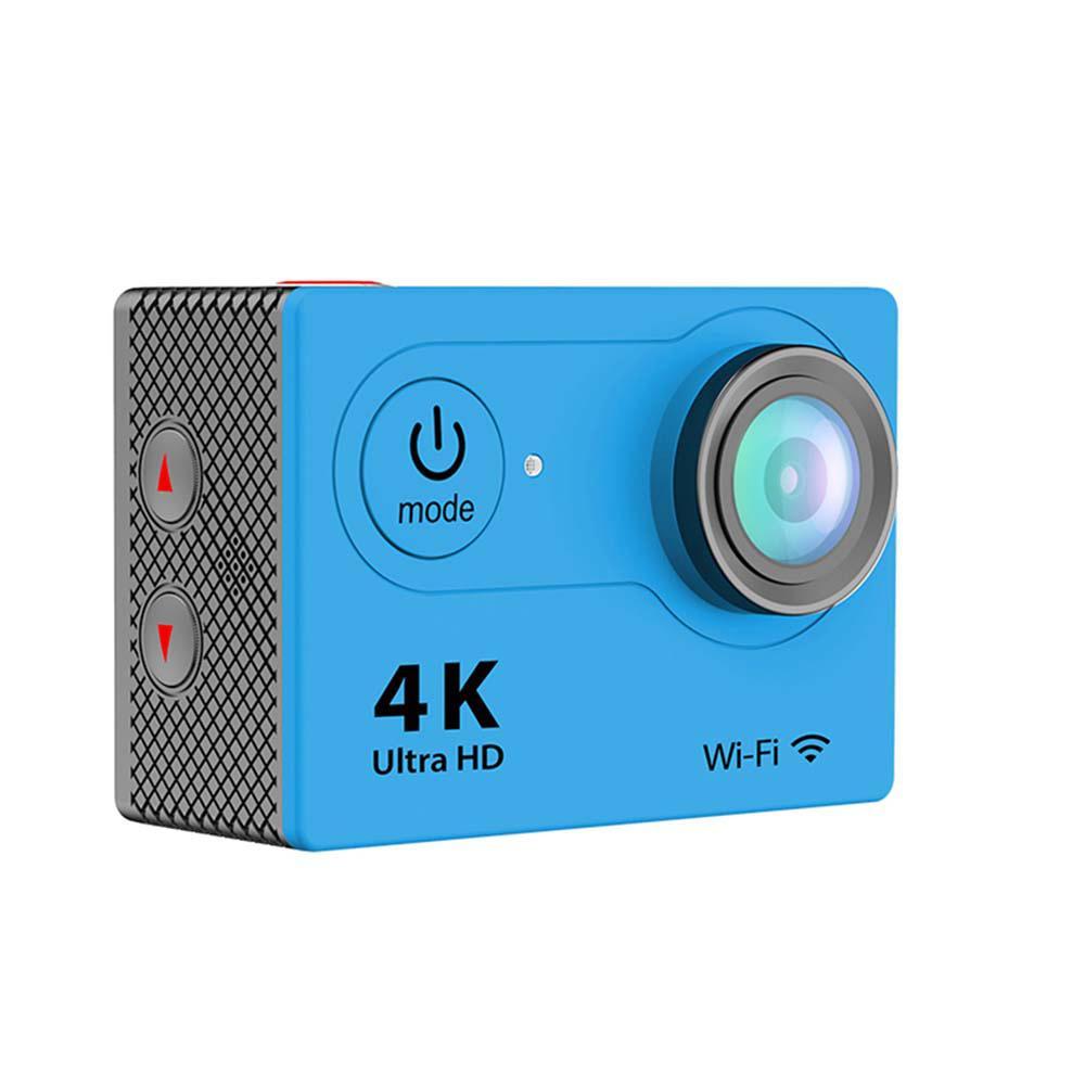 iPM 4K Waterproof 12 Mega Pixel Ultra HD Action Camera with Wi-Fi in Blue
