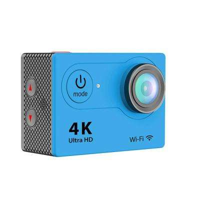 4K Waterproof 12 Mega Pixel Ultra HD Action Camera with Wi-Fi in Blue