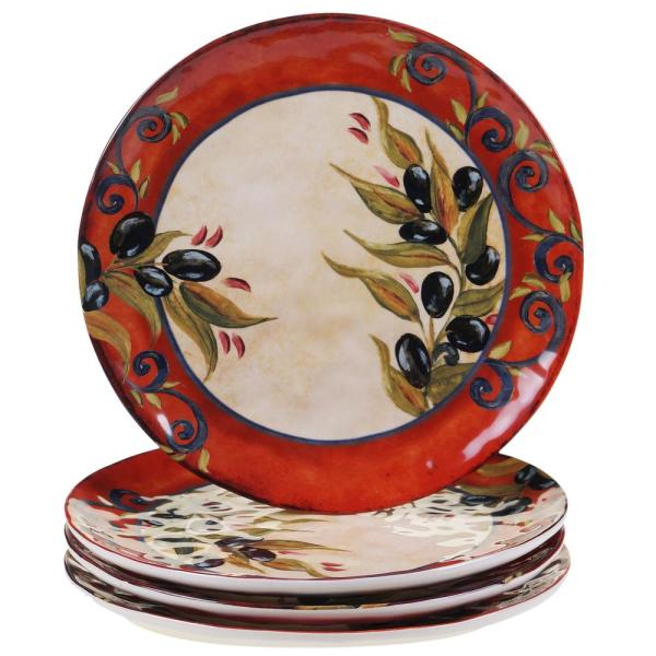 Certified International Umbria 10.75 in. Dinner Plate (Set of 4) 13920SET/4