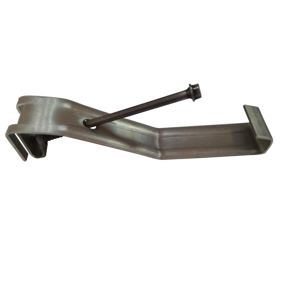 null 5 in. Steel Gutter with Screw