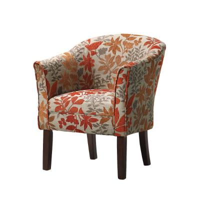 Colorfully Multi-Color Catchy Accent Chair