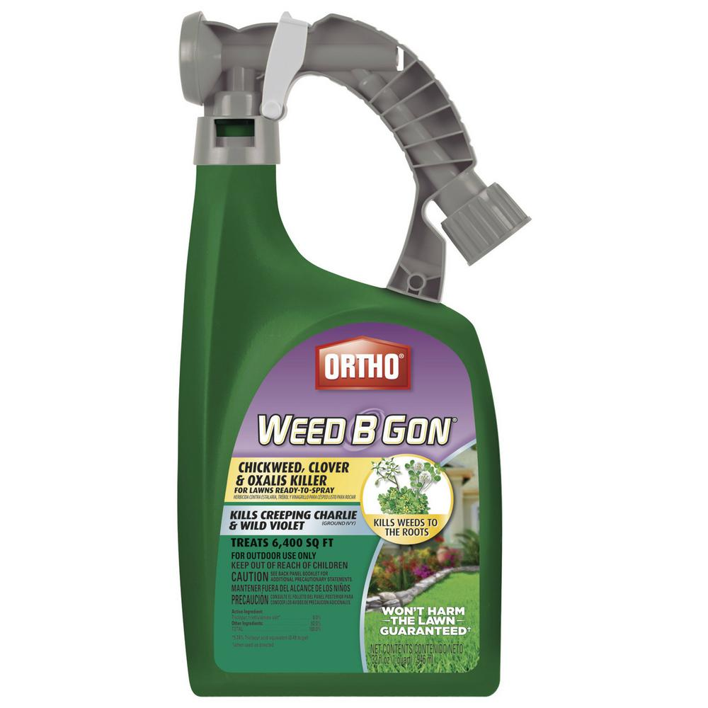 Ortho Weed B Gon 32 oz. Chickweed, Clover and Oxalis Killer For Lawns Ready-To-Spray