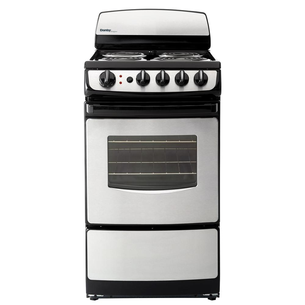 20 Electric Range >> Danby 20 in. 2.4 cu. ft. Single Oven Electric Range with