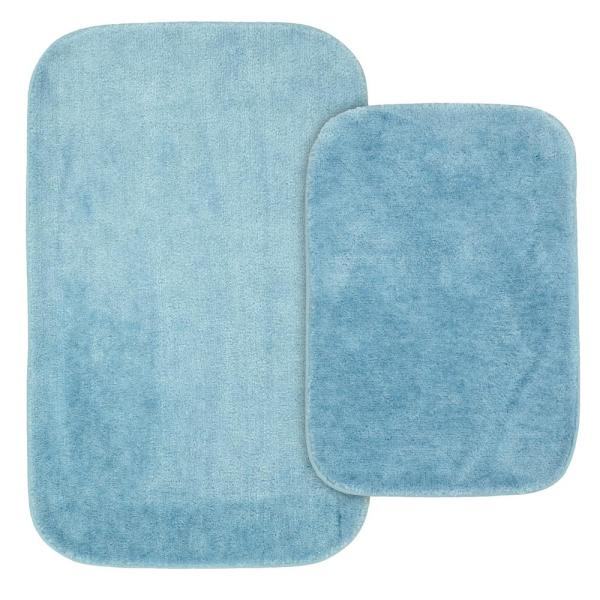 2 Piece Washable Bathroom Rug