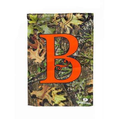 Mossy Oak 2-1/2 ft. x 3-2/3 ft. Monogrammed B 2-Sided Sublimated House Flag