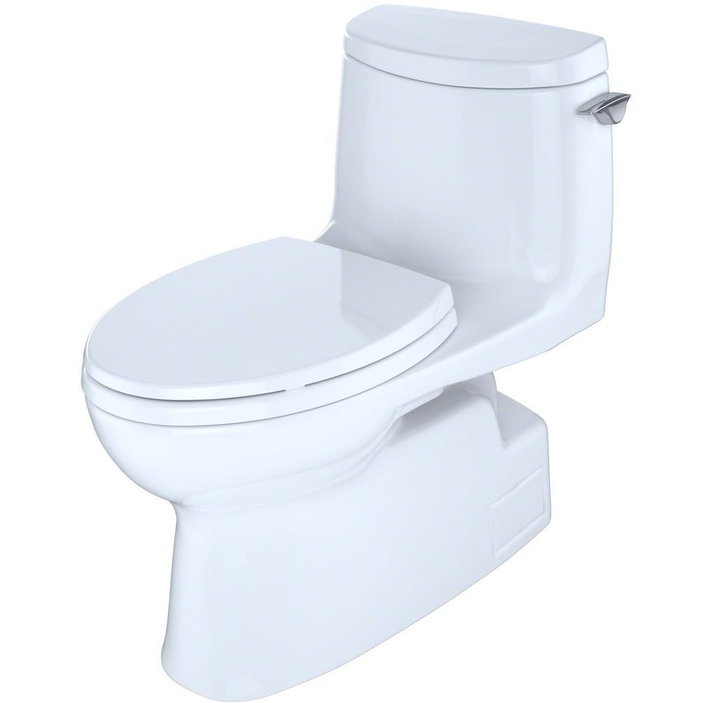 Sensational Toto Carlyle Ii 1 Piece 1 0 Gpf Single Flush Elongated Toilet With Cefiontect And Right Hand Trip Lever In Cotton White Beatyapartments Chair Design Images Beatyapartmentscom