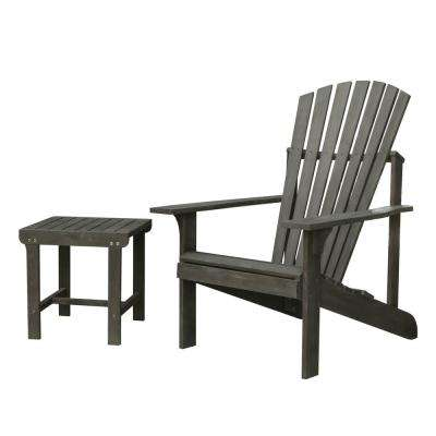 Renaissance Patio Wood 2-Piece Conversation Set