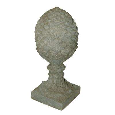 Sandstone Finish Pineapple Finial Statuary