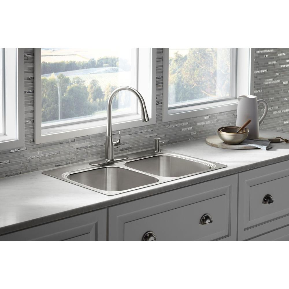 Kohler Verse Drop In Stainless Steel 33