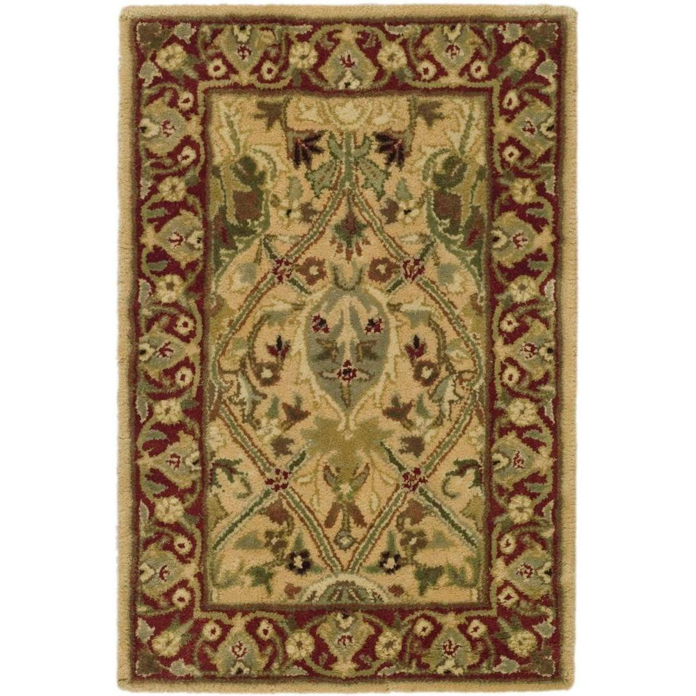 Persian Legend Ivory/Rust 2 ft. x 3 ft. Area Rug