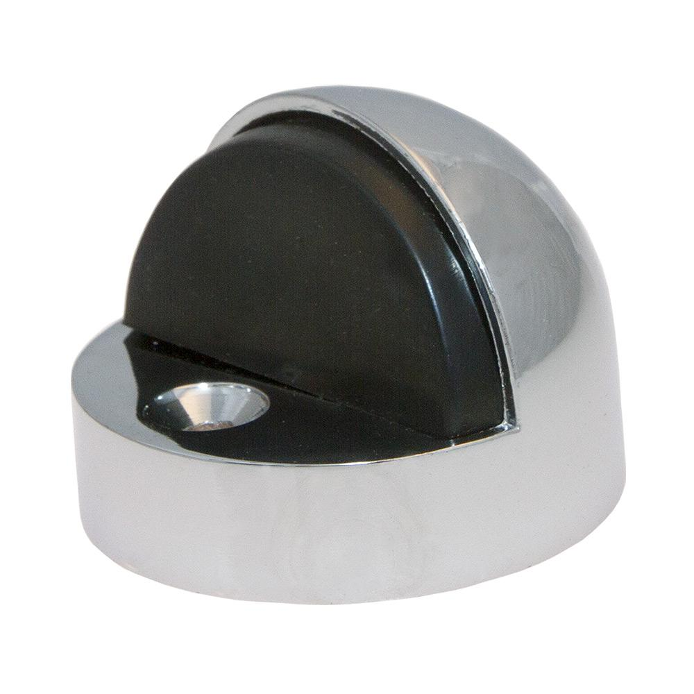 Polished Chrome Half Dome High Rise Door Stop
