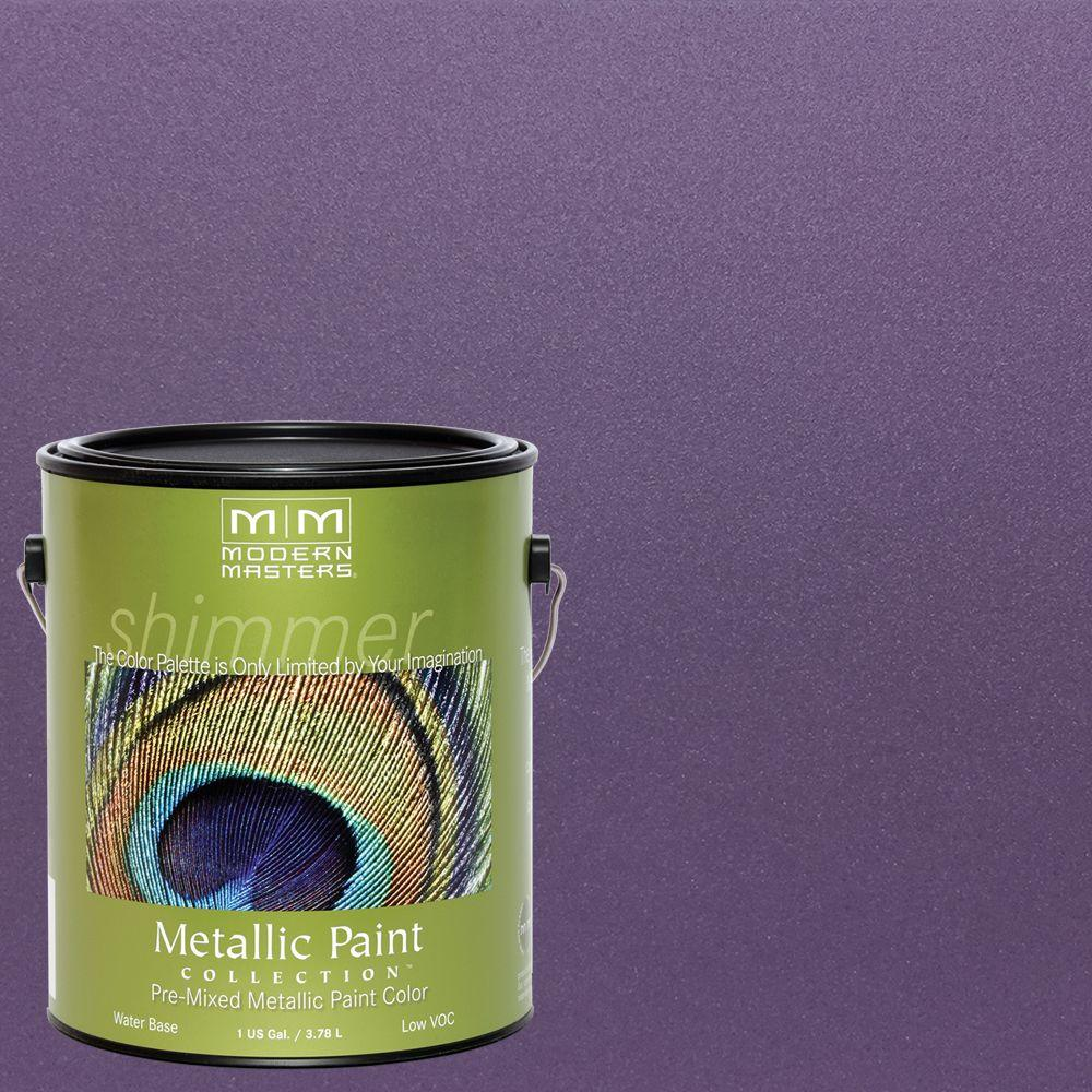 Lilac Water Based Satin Metallic Interior Exterior Paint