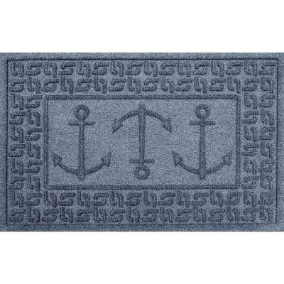 Bluestone 24 in. x 36 in. Ahoy! Polypropylene Door Mat