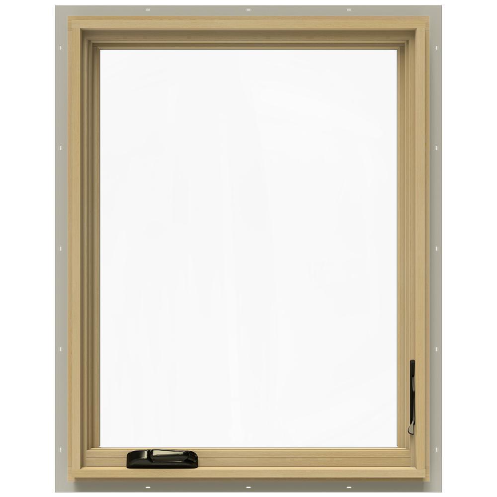 28.75 in. x 36.75 in. W-2500 Right-Hand Casement Wood Window
