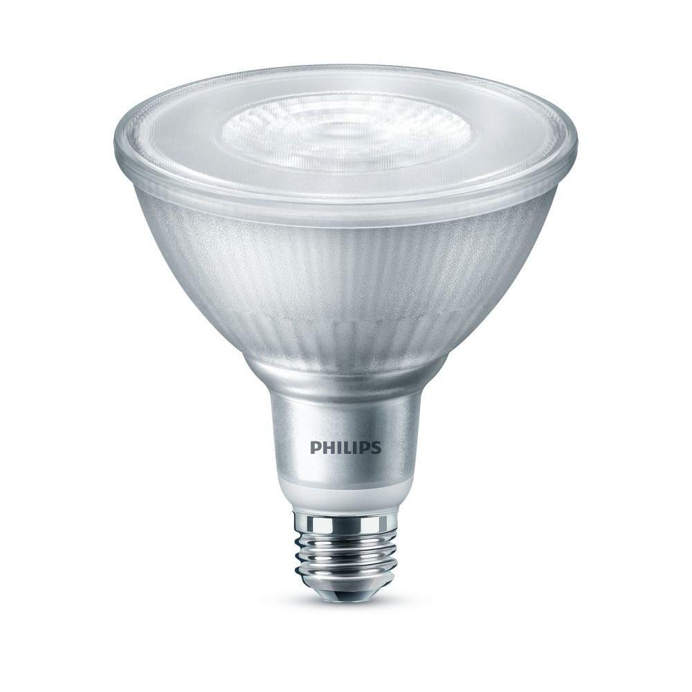 120-Watt Equivalent PAR38 Dimmable LED ENERGY STAR Flood Light Bulb Daylight Classic Glass (5000K) (1-Bulb)