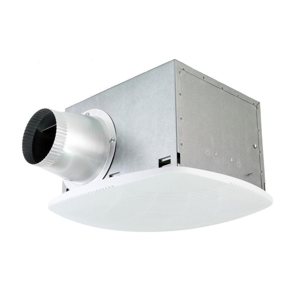 Nuvent Super Quiet 80 Cfm High Efficiency Ceiling Bathroom Exhaust Fan Nxsh80ups The Home Depot