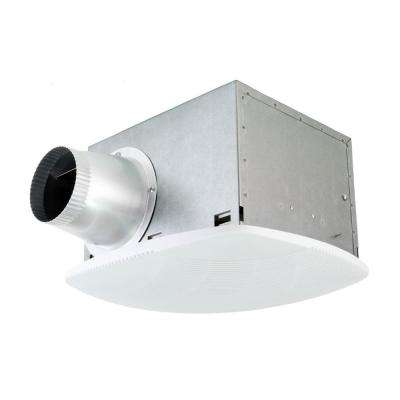 Super Quiet 80 CFM High Efficiency Ceiling Bathroom Exhaust Fan