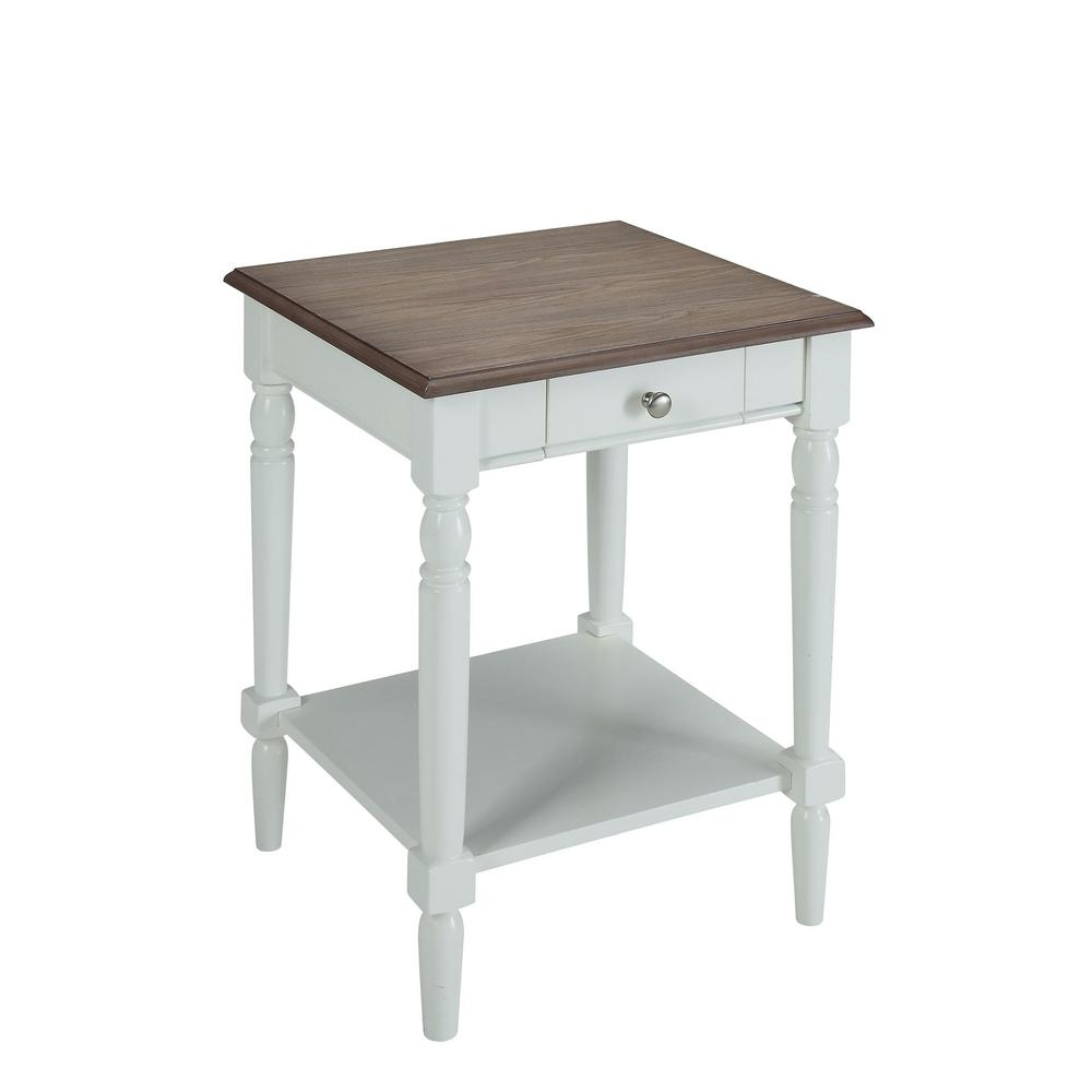 Convenience Concepts French Country Driftwood Gray And